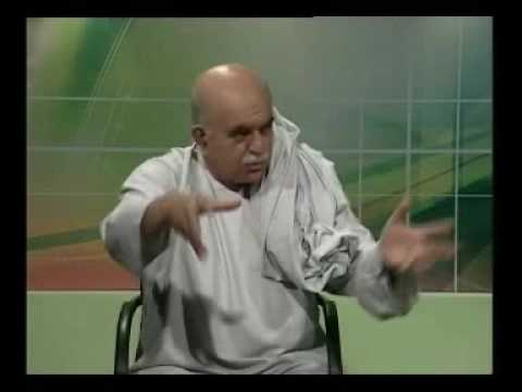 Mehmood Khan Achakzai in Khyber TV Programme News Room Islambad. Part 5/5