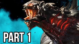 Evolve Gameplay Walkthrough - Part 1 - MONSTER DOMINATION!! (XB1/PS4/PC 1080p HD)