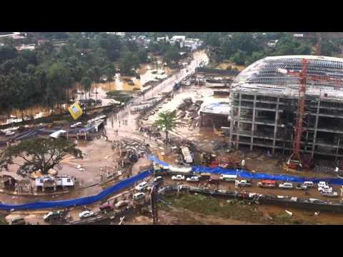 Typhoon Sendong - Cagayan de Oro Aerial View