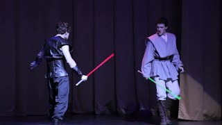 Star Wars duel on Russian Championship in Artistic Fencing 2010