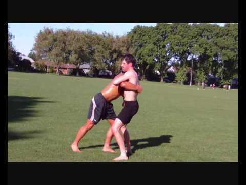 Turkish form of Self Defence (SAMBO) - New Zealand Guresh - Turkish Oil Wrestling Image 1