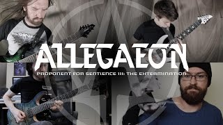 ALLEGAEON - Proponent For Sentience III - The Extermination (playthrough)