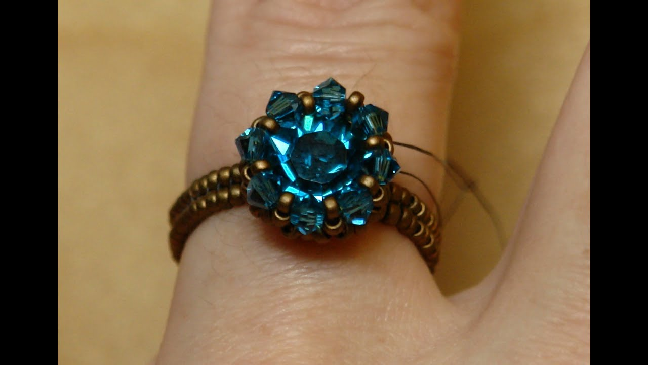 Sidonia's handmade jewelry - Swarovski Solitaire beaded ...