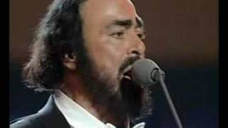 Luciano Pavarotti Video - Celine Dion & Luciano Pavarotti - I hate you then I love you