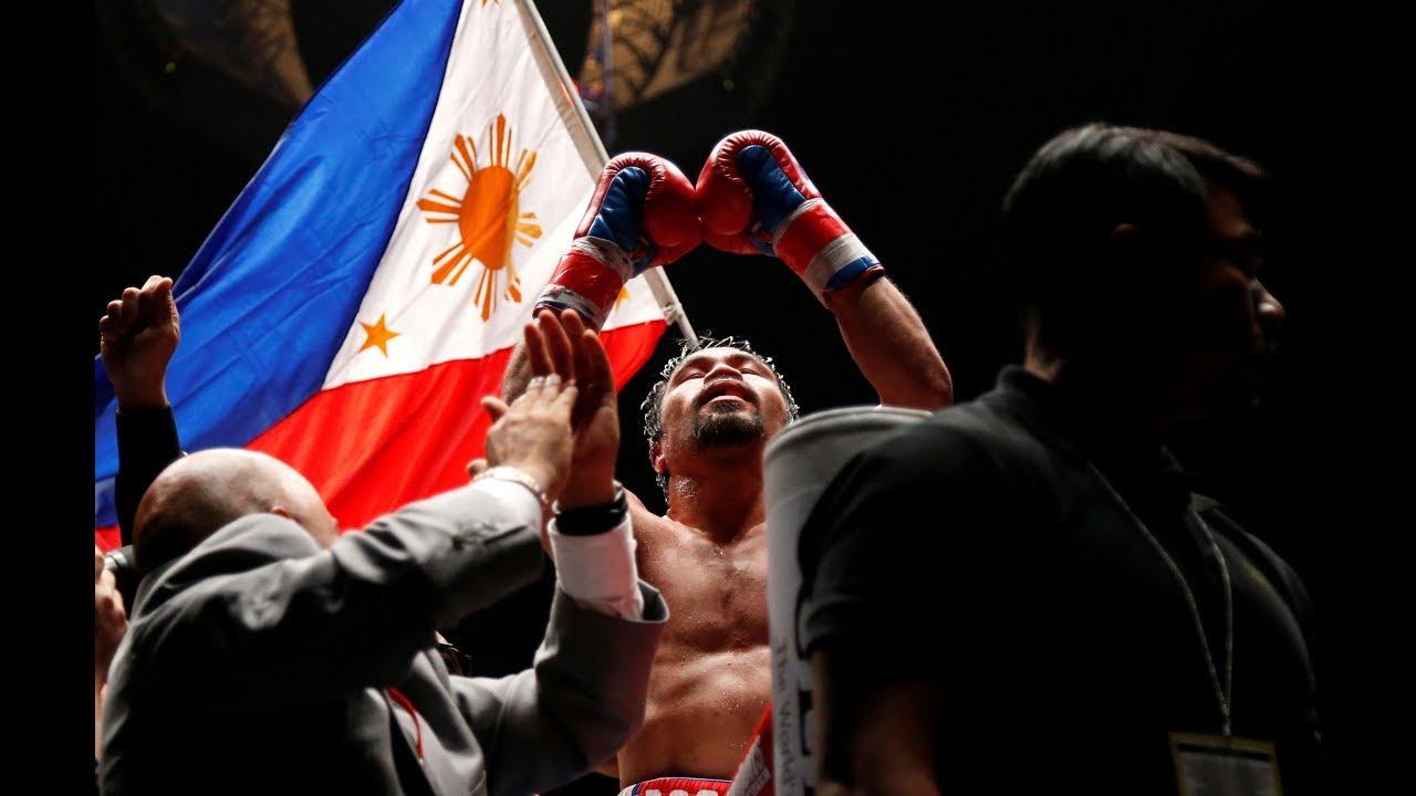Pacman packs a punch, wins WBA Welterweight title