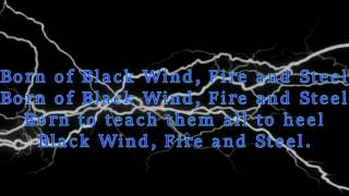 Watch Manowar Black Wind Fire And Steel video