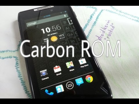 Motorola Razr Jelly Bean 4.3 CarbonROM Unofficial [stable. great customization]