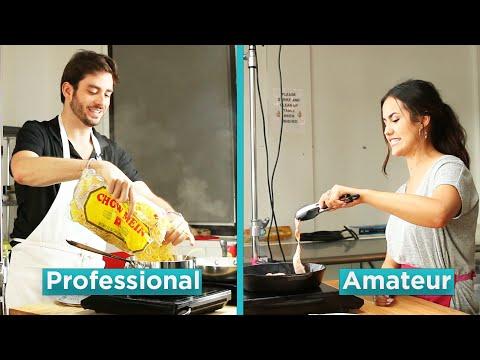 Amateur Chef Vs. Professional Chef: Hangover Foods