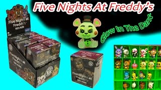 Full Box Funko Mystery Mini Blind Bag Boxes Surprise Five Nights At Freddy's Glow In The Dark