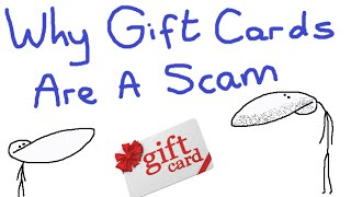 Why Gift Cards Are A Scam