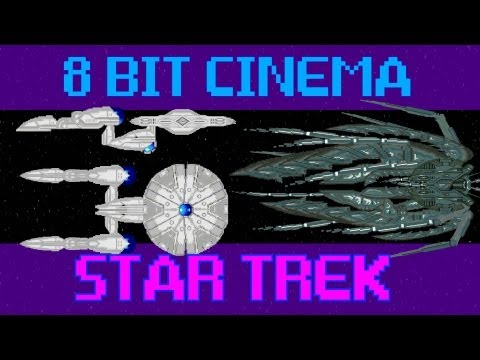 8-bit Cinema: Star Trek in 90 Seconds