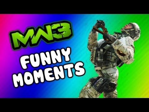 MW3 Funny Moments - Retard Run Kills, Angry Kids Rage, Funtage (A Break from Black Ops 2)