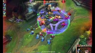 League Urf Mode firework Q