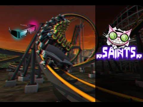 3d active/passive - roller coaster - test 3d side by side