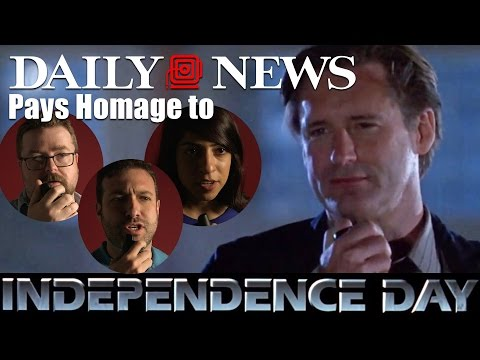 Daily News honors 'Independence Day' speech