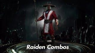 Mortal Kombat 11 Raiden Combos