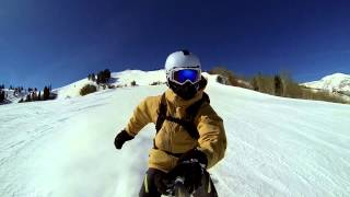 Snowboarding At Canyons Resort, Utah - GoPro Hero 3 Black Edition