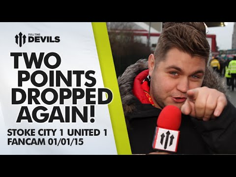 Two Points Dropped Again! | Stoke City 1 Manchester United 1 | FANCAM