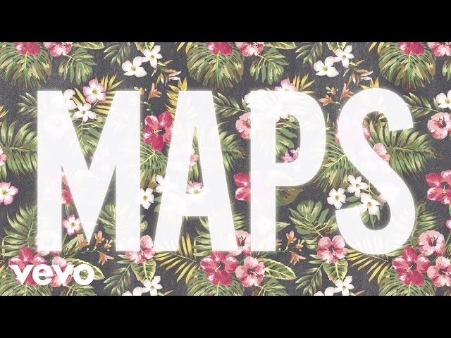 Maroon 5 - Maps Audio