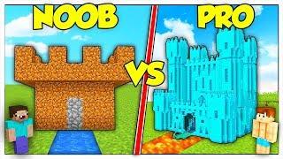 CASTELLO NOOB CONTRO CASTELLO PRO! - Minecraft ITA