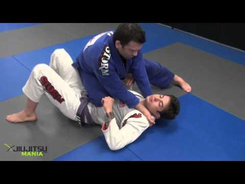 JiuJitsuMania Shawn Williams Baseball Choke from Knee on Stomach