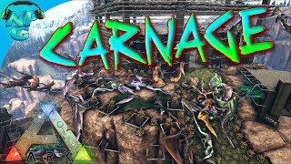 ARK Raid - Entire Server Attacks Nerd Parade Ragnarok Base! ARK Ragnarok PVP E41