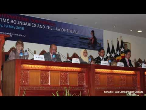 Dili International Conference: Maritime Boundaries and the Law of the Sea