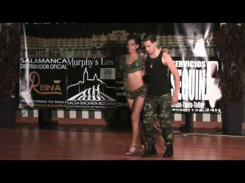 Concurso Amateur Kizomba Daydance Salamanca. David Y Andrea video