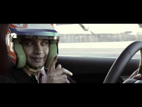 F1 star  Narain Karthikeyan experiences the Jaguar F-Type Coupe and Range Rover Sport
