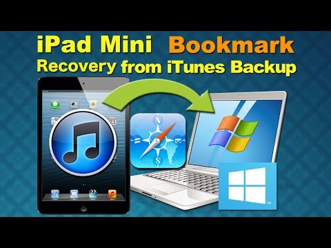 iPad Data Recovery: How to Recover Deleted Bookmark/Videos/Photos from iPad 4/3/2/1 or iPad Mini