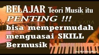 Belajar Teori Musik Pada Gitar, Piano Keyboard & Bass Itu Penting Sekali !!!