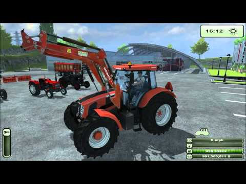 DLC for Farming Simulator 2013 Ursus REVIEW and game play