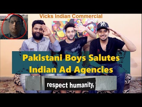 Pakistani Reacts to indian Commercial | VICKS: GENERATIONS OF CARE | #TouchOfCare