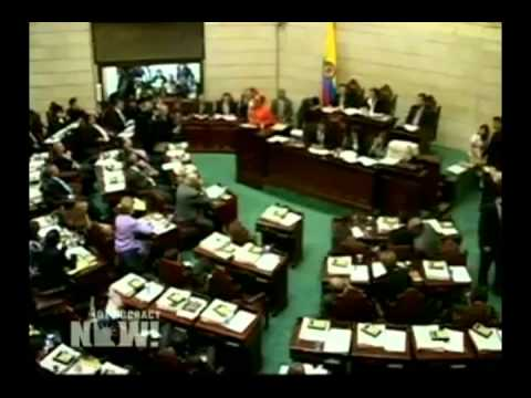 DN! Opposition Colombia Senator Removed from Office - Democracy Now Amy Goodman