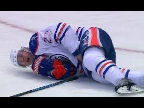 NHL Most Painful Blocked Shots