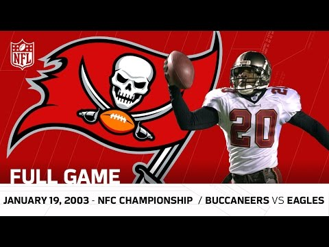 Buccaneers Vs Eagles 2002 Nfc Championship Nfl Full Game