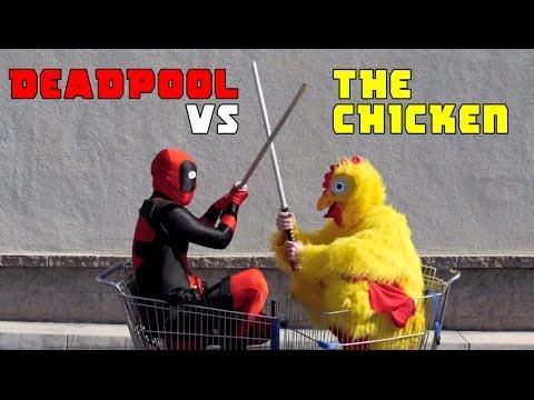 Deadpool vs Chicken