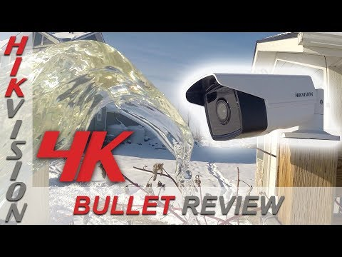 Hikvision 4K Bullet Security Camera Review Unboxing, Day ...