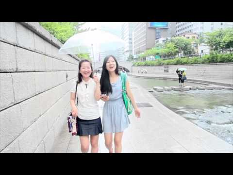 Walk and Talk in Korean - Cheonggyecheon Stream ()
