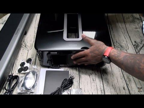 Sonos Playbar Soundbar And Sonos Wireless Subwoofer