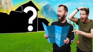 Who Can Build The Best FORTNITE Mansion?!