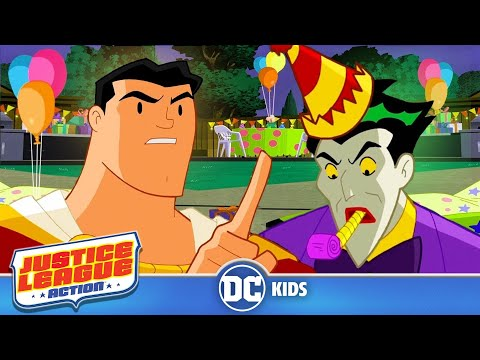 Justice League Action | Clown Party | Episode 22