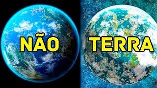 5 PLANETAS PARECIDOS COM A TERRA DESCOBERTOS HÁ POUCO TEMPO