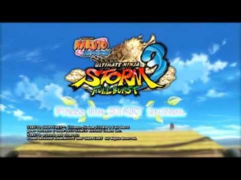 Jogando Naruto Shippuden Storm 3 video