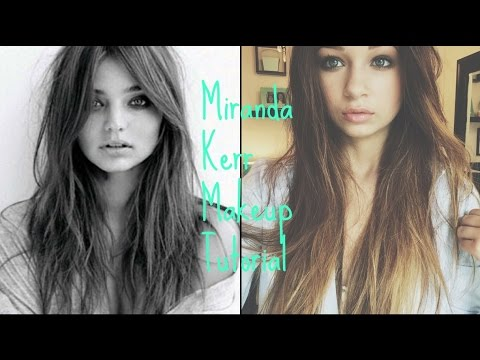 Miranda Kerr Inspired Makeup Tutorial // Victoria's Secret Makeup