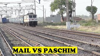 Golden Temple Mail VS Paschim Express Honk Clash