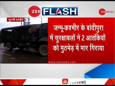 2 terrorists, soldier killed in encounter in Kashmir's Bandipora