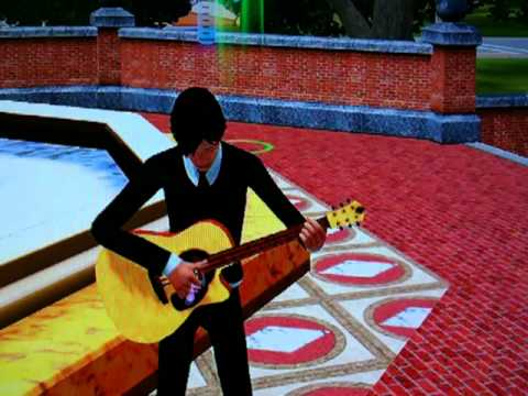 PS3 The Sims 3 ギター演奏