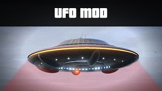 FLY A UFO MOD (Abduct People, Fire Lasers!) | GTA 5 PC Mods