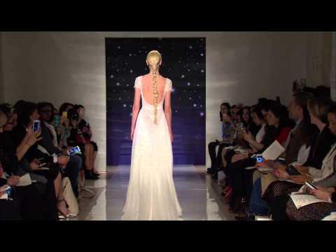 Desfile de vestidos de novia de Reem Acra Primavera 2016